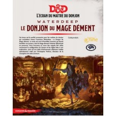 DD5 - Dungeon of the mad mage (screen) FR - Le Donjon du Mage Dément (écran)